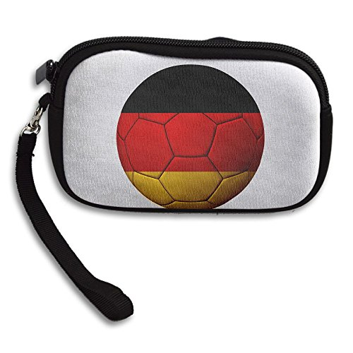 Bag Small Portable Printing Football Purse Flag Deluxe Black Receiving Germany wx8TqI4n
