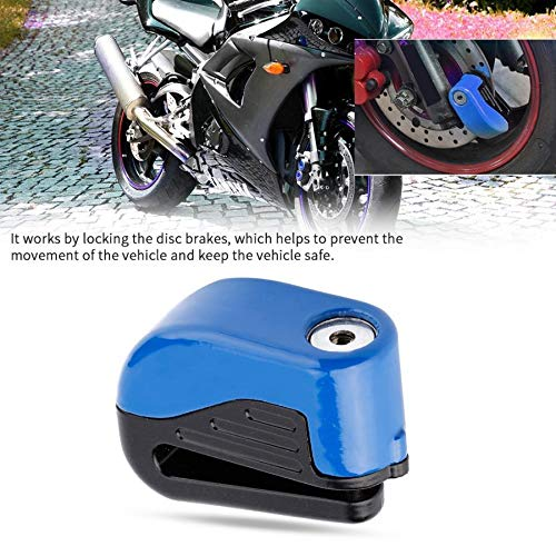 Motorcycle Security Alarm Lock Motorcycle Anti-theft Wheel Disc Brake Safety Lock