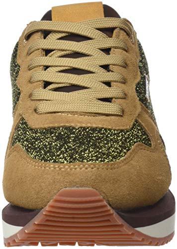 Pepe Zion 855 camel Beige Femme Baskets Jeans Basses Lux OgqOUwv