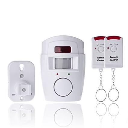 Sensor de infrarrojos PIR Alerta MP antirrobo sistema de detector de movimiento alarma monitor alarma sin