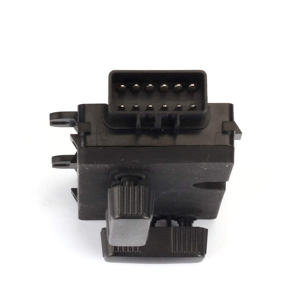Dasbecan 8-Way Power Driver Side Seat Switch Compatible with Cadillac Escalade Chevy Avalanche Silverado Suburban Tahoe GMC Sierra Yukon Hummer Replaces# 12450166 1S9702 SW7123 PSW15