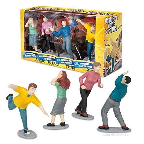 Accoutrements Horrified Movie Victims Mini Figures Set]()