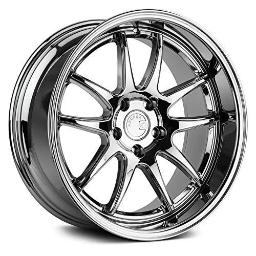 AodHan DS02 Wheel - Vacuum Chrome: 19x9.5 Wheel Size; 5x114.3 Lug Pattern; 73.1mm Hug Bore; 22mm OffSet.