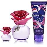 Justin Bieber Someday 3 PC Set 3.4 z EDP + 3.4oz Lotion + 0.25 Perfume