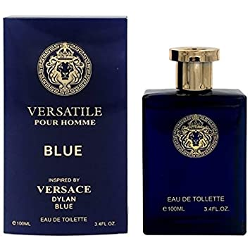 EBC Versatile Blue Eau De Toilette for Man, 100ml/3.4 OZ