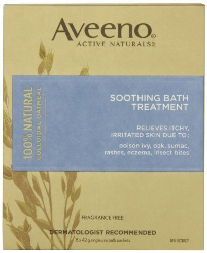 AVEENO Soothing Bath Treatment 8 packs - 9