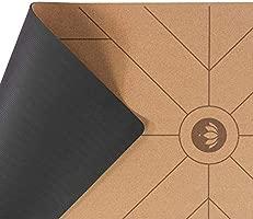 Lotuscrafts Esterilla Yoga Corcho Cork - Superficie Antideslizante a Prueba de Sudor - Materiales 100% Reciclables - Esterilla de Yoga Antideslizante ...