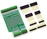Electronics-Salon Prototype Screw Shield Board Kit For Arduino UNO R3, 0.1