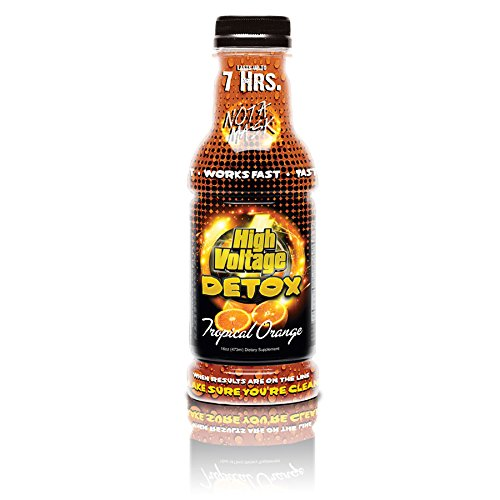 High Voltage Detox Drink 16oz Tropical Orange