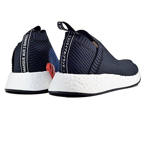 Adidas Citysock 2 Primeknit Uomo Scarpe Nucleo Nero / Carbonio / Rosso Sld Nero / Blu-rosso