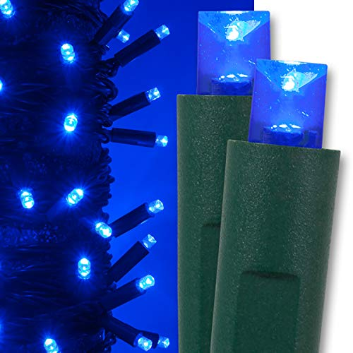 Blue Led Christmas Light Sets in US - 3