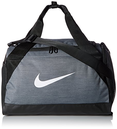 NIKE BRASILIA X-SMALL DUFFEL GREY by NIKE