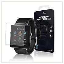 EXINOZ® Garmin Displayschutz | Hochgradiger Schutz mit 1 Jahr Umtauschgewährleistung | Nur das Beste für Ihre Garmin Smart Watch (Vivoactive)