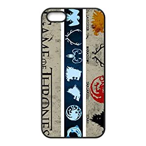Game Of Thrones Black Phone Case for iPhone 5S