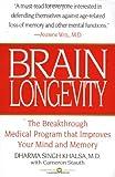 Brain Longevity, Dharma Singh Khalsa and Cameron Stauth, 0446673730