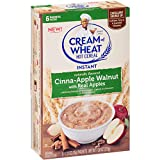 Cream of Wheat Instant Hot Cereal, Cinna-apple Walnut, 1.23 Ounce, 6 Packets (Pack of 12)