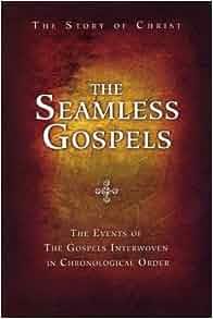 Gospels in chronological order book