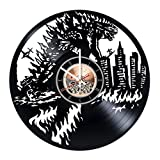 Godzilla Vinyl Record Wall Clock – Home Room or Bedroom wall decor – Gift ideas for boys and girls, friends – New Movie Unique Art Design For Sale