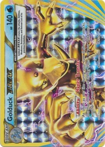 Pokemon - Golduck-Break (18/122) - XY BREAKPoint - Holo