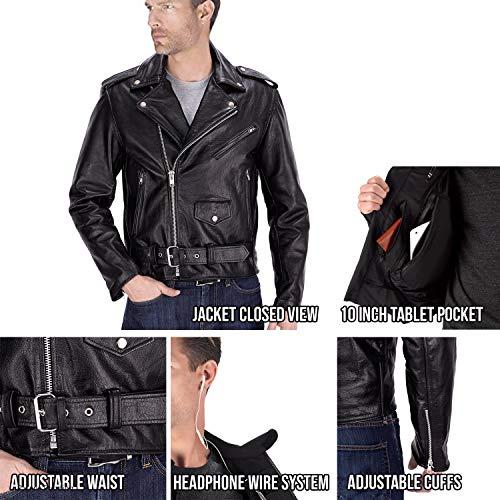Nomad USA Classic Biker Jacket (2XL)