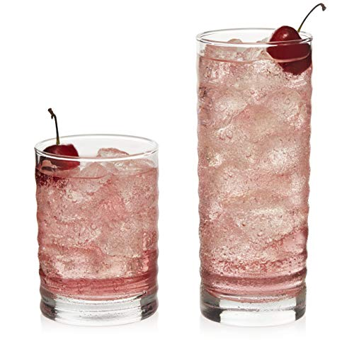 Libbey Pueblo 16-Piece Tumbler and Rocks Glass Set ()