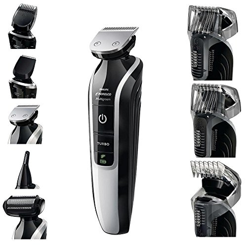 Price comparison product image Philips Norelco Multigroom Pro Trimmer Series 7500 with Pouch QG3392