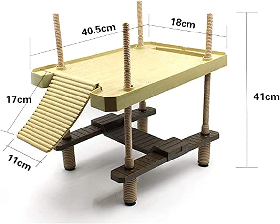 WYBFBYD Turtle Decorativo Muelle Flotante Plataforma para Tomar el Sol con Escalera de rampa, Flotante Tortuga Muelle Muelle Muelle rampa para el Sol,L: Amazon.es: Productos para mascotas