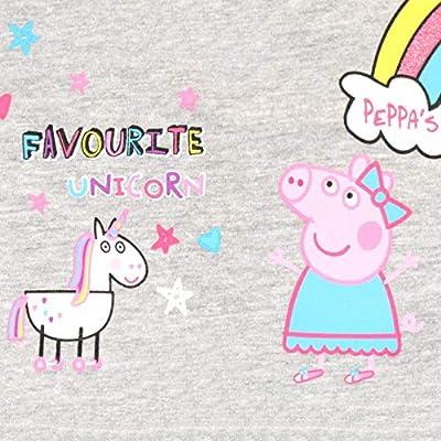 Peppa Pig Girls Unicorns /& Rainbows Dress