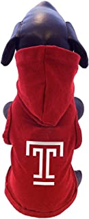 product image for All Star Dogs NCAA Temple Owls Cotton Hooded Dog Sweatshirt