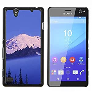For Sony Xperia C4 Case , Sunset Beautiful Nature 67- Diseño Patrón Teléfono Caso Cubierta Case Bumper Duro Protección Case Cover Funda