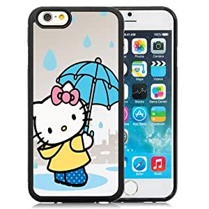 Popular And Durable Designed Case For iPhone 6 4.7 Inch TPU With Hello Kitty Holding An Umbrella Phone Case