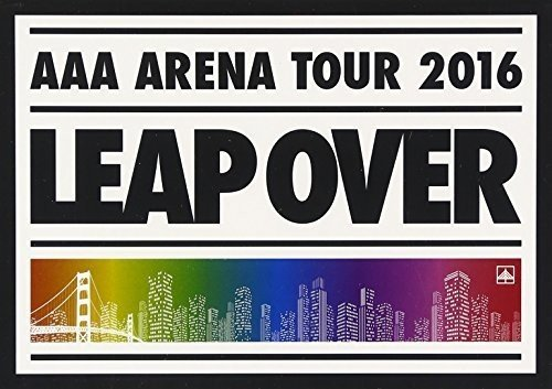 DVD : Aaa - Aaa Arena Tour 2016: Leap Over (Hong Kong - Import, 2PC)
