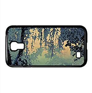 Beautiful Winter Frost Watercolor style Cover Samsung Galaxy S4 I9500 Case (Winter Watercolor style Cover Samsung Galaxy S4 I9500 Case)