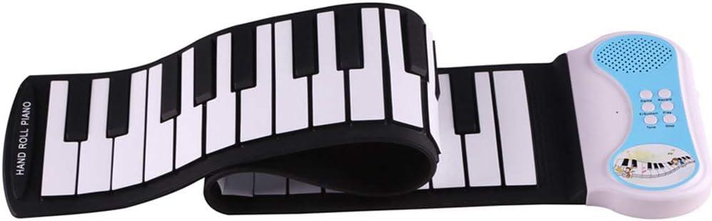 MSQL Instrumento de Teclado electrónico para Piano, Plegable ...