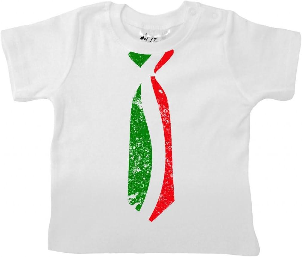 Dirty Fingers – Dibujo corbata con bandera italiana – Baby ...