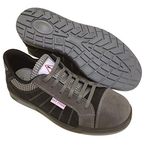 Seba 635gnce Langsame Schuh, Grau/Schwarz S3SRC, Größe 47