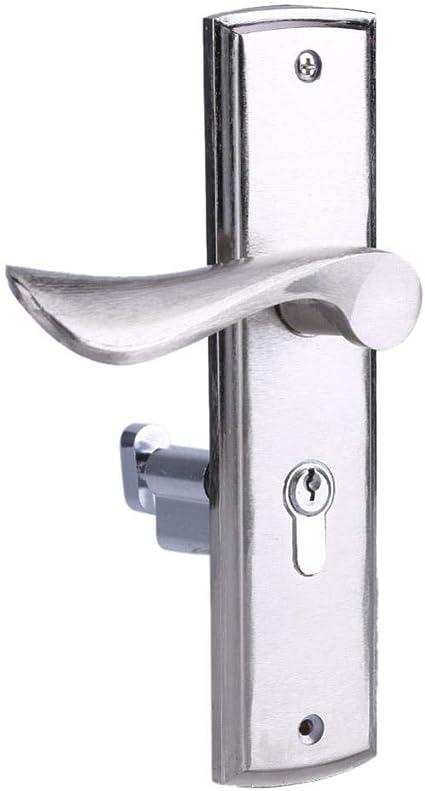 Llxxx Manija Puerta-Tirador de Acero Inoxidable con manija para Puerta corrediza: Amazon.es: Hogar