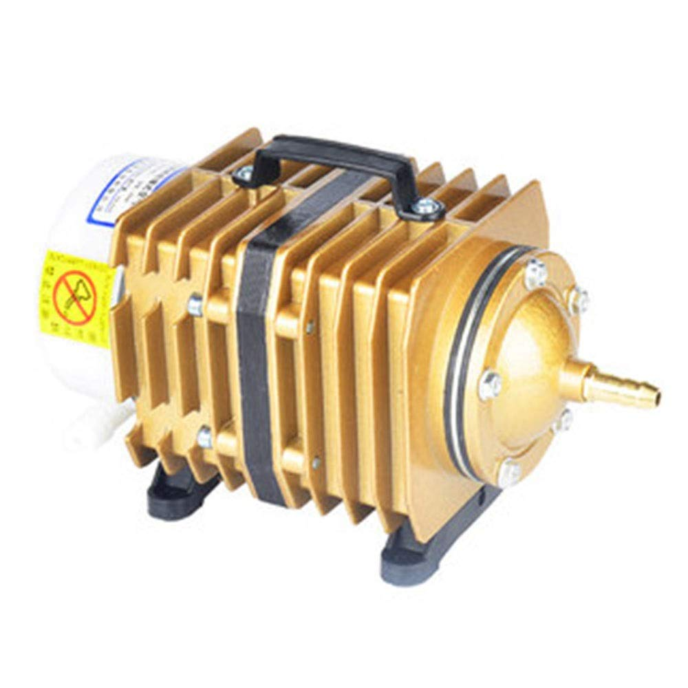 gold Bare metalLIFUREN Fish Tank Oxygen Pump High Power Oxygen Oxygen Pump Aerator Aquarium Aerator Atmospheric Volume Small Size (color   gold, Size   Bare metal)