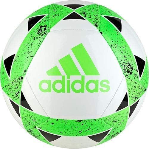adidas Starlancer V Soccerball White-Solar Green #3: Amazon.es ...