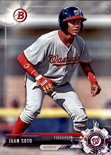2017 Bowman Draft Baseball #BD-162 Juan Soto Washington Nationals