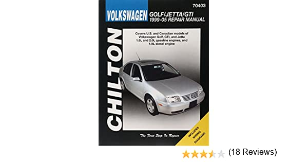 Volkswagen golfjettagti 1999 2005 repair manual chiltons total volkswagen golfjettagti 1999 2005 repair manual chiltons total car care repair manuals chilton 9781563927188 amazon books fandeluxe Image collections