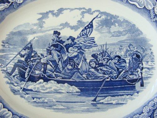 (George Washington Crosses the Delaware Platter)