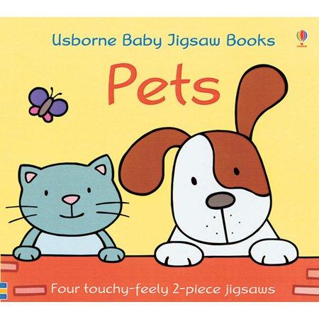 Read Online Pets Baby Jigsaw Book (Usborne Baby Jigsaw Books) pdf epub