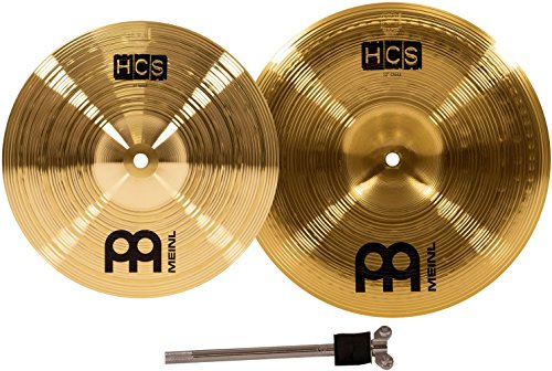 Finger Cymbals Thin - Meinl Cymbals HCS-FX HCS Cymbal Box Set Effects Pack with 10