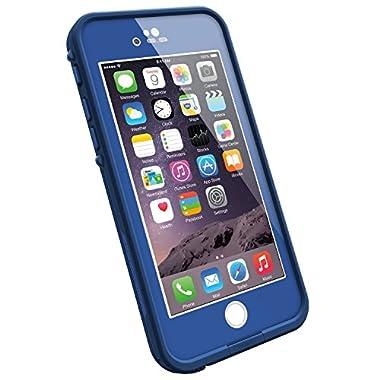 LifeProof FRE iPhone 6 ONLY Waterproof Case (4.7  Version) - Retail Packaging -  SOARING BLUE (LIGHT COBALT/DARK COBALT)