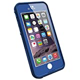 LifeProof FRE iPhone 6 ONLY Waterproof Case (4.7'' Version) - Retail Packaging -  SOARING BLUE (LIGHT COBALT/DARK COBALT)