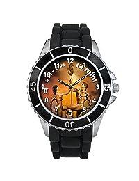 Gemini Zodiac Unisex design watch with silicone band
