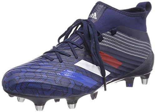 adidas Predator Flare (SG), Scarpe da Football Americano Uomo Blu (Maruni/Azul/Plamet 000)