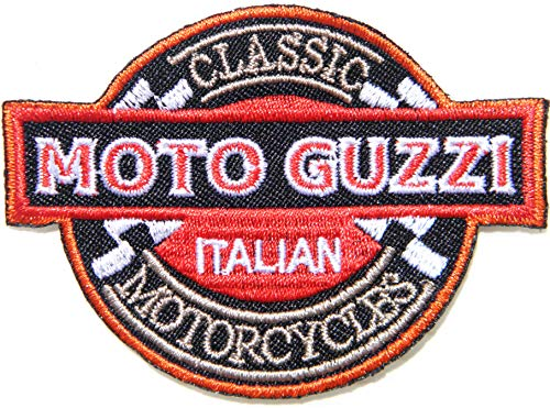 Moto Guzzi Biker Motorcycles Shields Badge Patch Iron on Sewing Embroidered Applique Logo Badge Sign Embelm Craft Gift