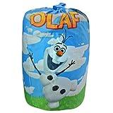 Frozen Olaf Quilted Slumber bag , Sleeping Bag, 30 X 54 Inch, Pink Color , Best Gift for Kids Children (BLUE)